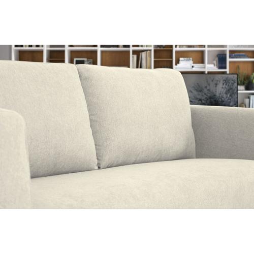 VIG Furniture - Divani Casa Jada - Modern Light Beige Fabric Loveseat
