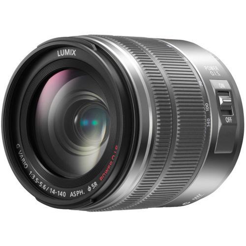 LUMIX G Vario Lens, 14-140mm, F3.5-5.6 ASPH., Micro Four Thrids, POWER Optical I.S. - H-FS14140S