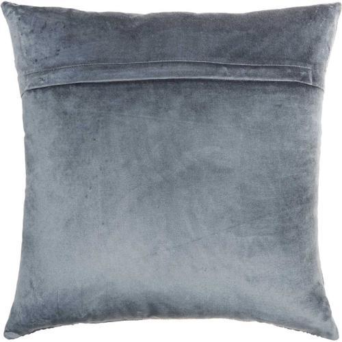 "Luminescence Sc187 Midnight 18"" X 18"" Throw Pillow"