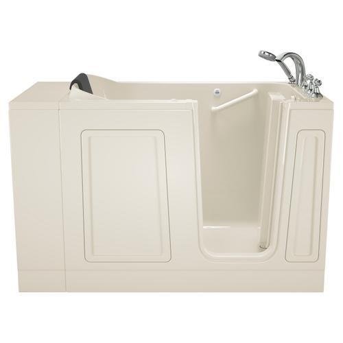 American Standard - Acrylic Luxury Series 30x51 Walk-in Tub With Air Spa Right Drain  American Standard - Linen
