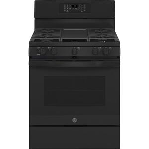 "GE®30"" Free-Standing Gas Convection Range with No Preheat Air Fry"