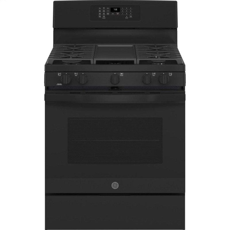 """30"""" Free-Standing Gas Convection Range with No Preheat Air Fry"""