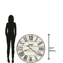 See Details - Howard Miller West Grove Oversized Wall Clock 625743