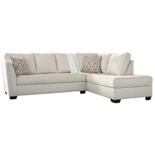 Filone Ivory Sectional Right