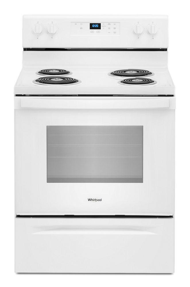 Whirlpool4.8 Cu. Ft. Whirlpool® Electric Range With Keep Warm Setting