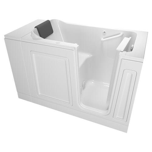 Luxury Series 28X48-inch Walk-in Tub Air Spa, Right Drain  American Standard - White
