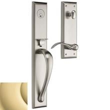 Product Image - Non-Lacquered Brass Cody Full Handleset
