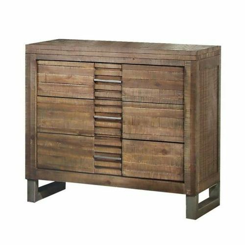 ACME Andria Nightstand - 21293 - Reclaimed Oak