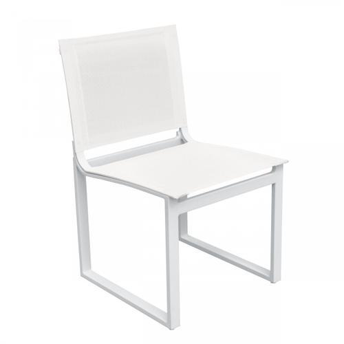 VIG Furniture - Renava Kayak - Modern Outdoor White Dining Chair (Set of 2)