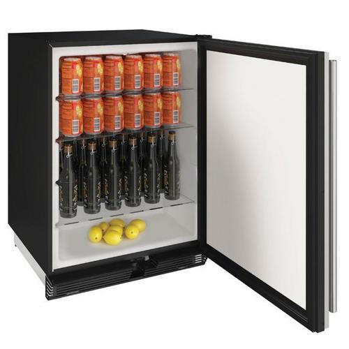 """Product Image - 1024r 24"""" Refrigerator With Stainless Solid Finish (115 V/60 Hz Volts /60 Hz Hz)"""