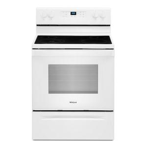 Whirlpool5.3 cu. ft. Whirlpool® electric range with Frozen Bake™ technology