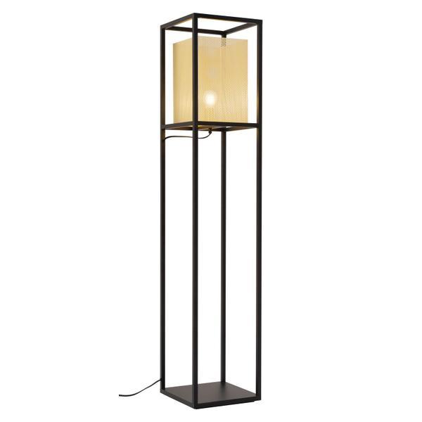 See Details - Yves Floor Lamp Gold & Black