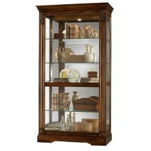 See Details - Howard Miller Andreus Curio Cabinet 680479