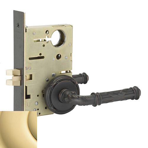 Baldwin - Non-Lacquered Brass Fenwick Sectional Passage Set
