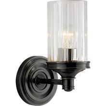 View Product - Alexa Hampton Ava 1 Light 5 inch Bronze Single Sconce Wall Light
