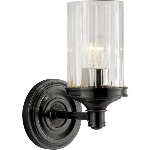 Visual Comfort - Alexa Hampton Ava 1 Light 5 inch Bronze Single Sconce Wall Light