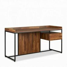 ACME Sara Desk - 92445 - Walnut & Sandy Black