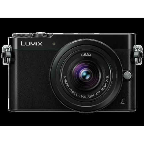 Panasonic LUMIX GM5 Mirrorless Interchangeable Single Lens Camera (DSLM) Plus 12-32mm Kit Lens - Black