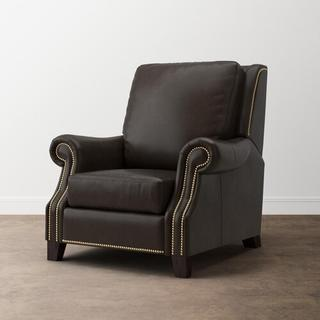 Pierce Leather Recliner w/Power