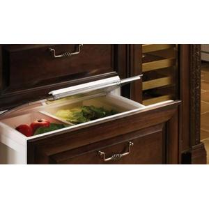 Sub-Zero - 700BRB Refrigerator Drawers - Carbon Stainless