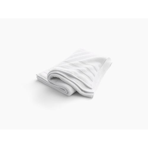 "Dune Bath Towel With Terry Weave, 30"" X 58"""