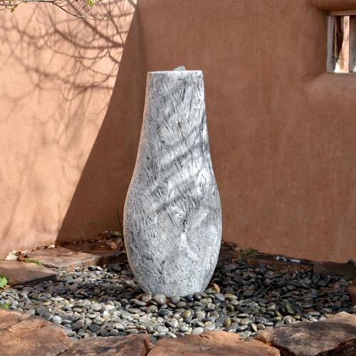 Bamboo Marble Fountain, Vase shape