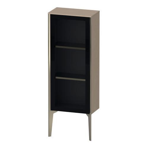 Duravit - Semi-tall Cabinet With Mirror Door Floorstanding, Linen (decor)