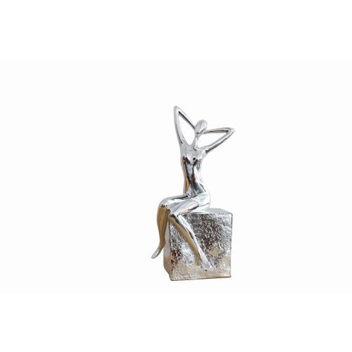 Gallery - Modrest Figure Modern Silver Scuplture