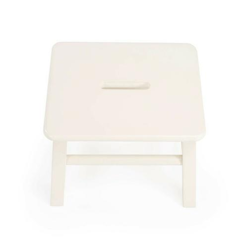 This artisan-crafted step stool was designed to provide that extra step-up. Equally well-suited for use beside the bed, in the den or kitchen, it may be used wherever a little extra reach is needed. It is crafted from select hardwood solids, wood products and choice cherry veneers.