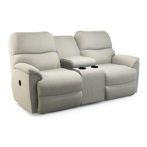 Trouper Reclining Loveseat w/ Console