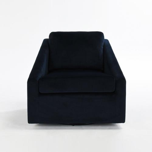 Classic Home - Monticello Accent Chair Midnight Blue