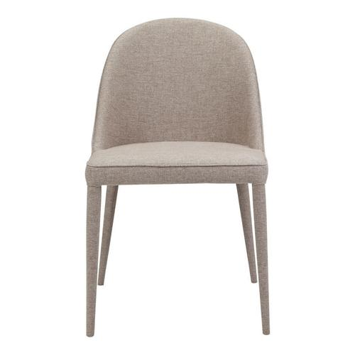 Moe's Home Collection - Burton Fabric Dining Chair Light Grey-m2
