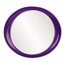 See Details - Ellipse Mirror - Glossy Royal Purple