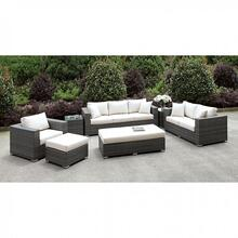 See Details - Somani 3 Pc Set + 2 End Tables + Ottoman + Bench