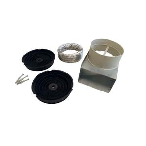 Recirculation kit for CONX/14 - PRO1X/14 models Stainless Steel -