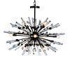 See Details - Goliath Star Small Chandelier in Black