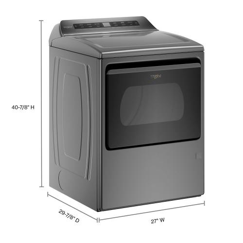 7.4 cu. ft. Smart Capable Top Load Gas Dryer