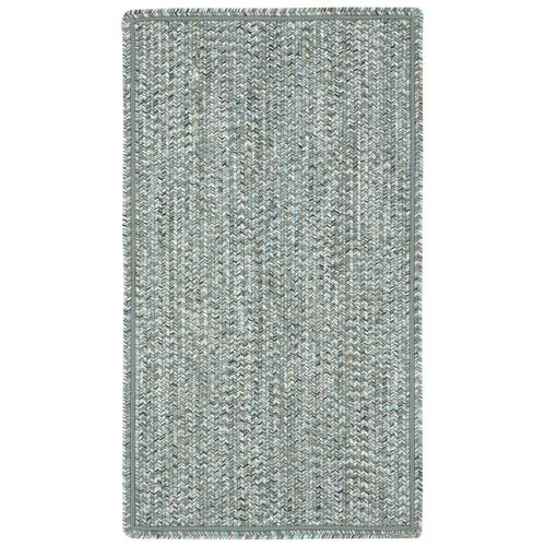 Sea Glass Smoky Quartz Braided Rugs (Custom)