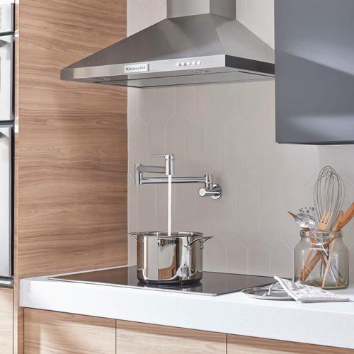 American Standard - Studio S Pot Filler Kitchen Faucet  American Standard - Polished Chrome