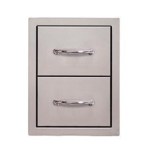 Alfresco - Flush-mount Double Drawer Unit