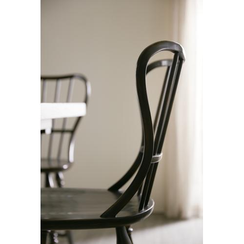 Hooker Furniture - Ciao Bella Spindle Back Counter Stool-Black
