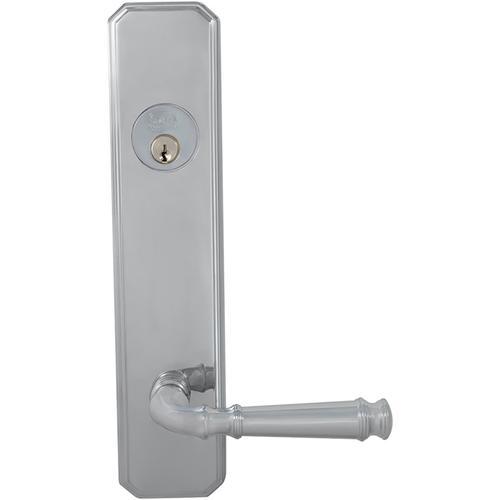 Exterior Traditional Deadbolt Entrance Lever Lockset in (US26 Polished Chrome Plated)