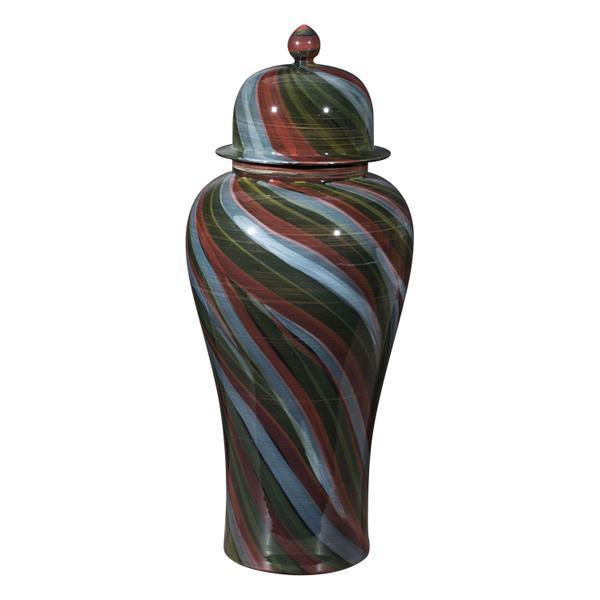 See Details - Large Galax Jar Multicolor