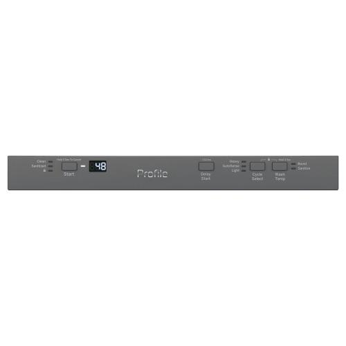 """GE Profile™ 18"""" ADA Compliant Stainless Steel Interior Dishwasher with Sanitize Cycle"""