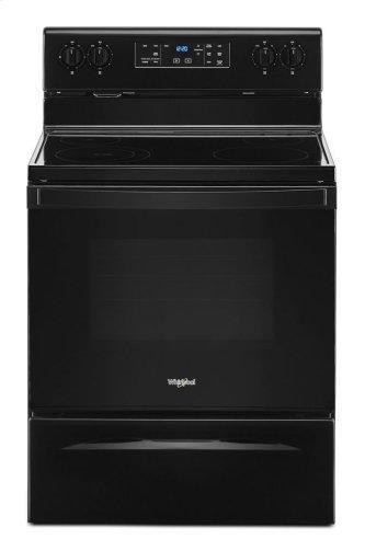 5.3 cu. ft. Electric range with Frozen Bake technology Black