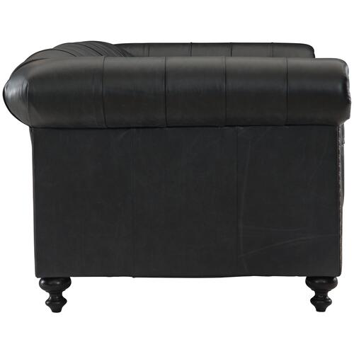 London Club Sofa (92-1/2 in.) in Mocha (751)