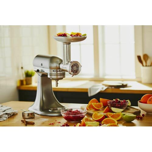 KitchenAid - Metal Food Grinder Attachment - Other