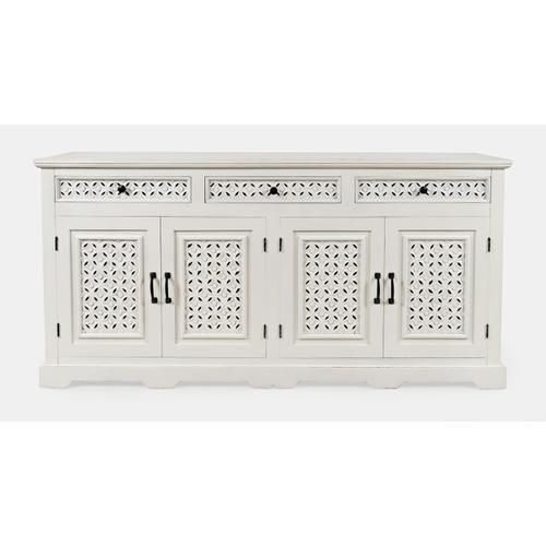 "Decker 70"" Console-antique White"