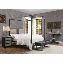ACME Baara Queen Bed - 22040Q - Natural & Sandy Gray
