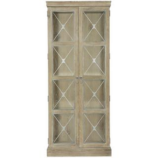 See Details - Rustic Patina Curio in Sand (387)